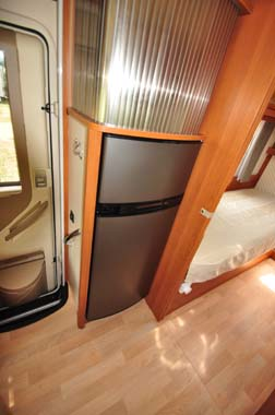 Rapido 665 Motorhome Fridge