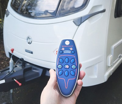 caravan and motor mover remote control