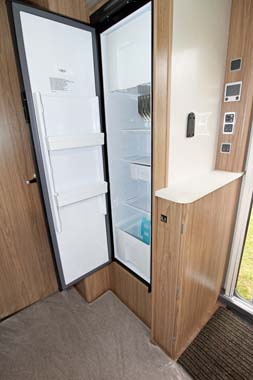 Coachman Laser 650 Fridge