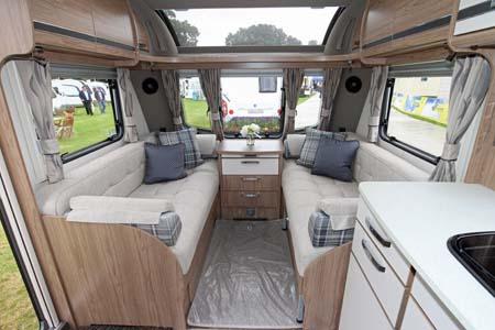 Coachman Laser 650 Interior