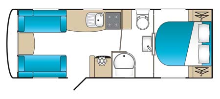 Coachman Laser 650 floorplan