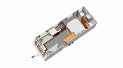 Compass Corona 554 floor plan