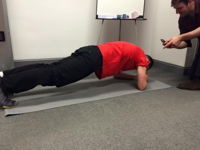 Plankity plank challenge