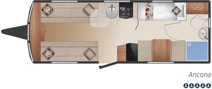 Bailey Pegasus Ancona floorplan