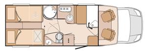 Knaus Sun TI700 MEG Floor Plan