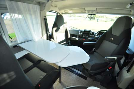 Adria Twin 540 Dining Seating 2