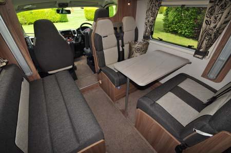 Bessacarr 496 interior 2