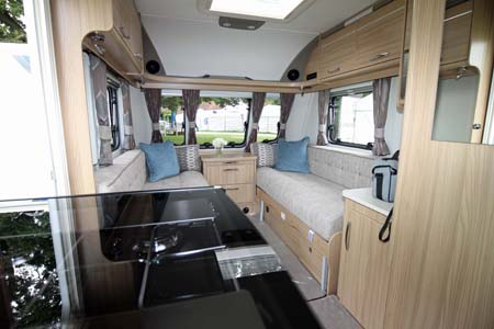 Coachman Vision 570 Interior looking forward