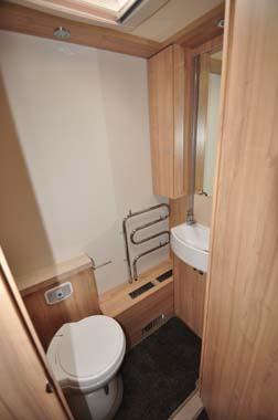 Elddis Crusader Aurora Washroom