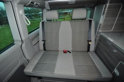 Motorhome seatbelts
