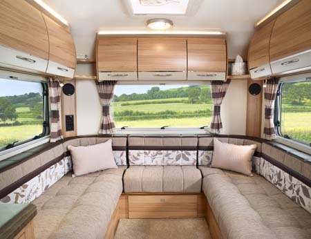 Bailey Approach Autograph 765 interior