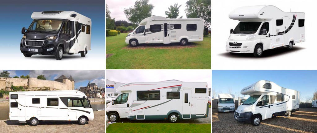 Family friendly six berth motorhomes