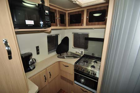 Auto-Sleeper Stanway Kitchen
