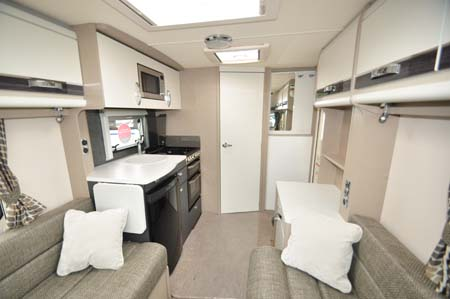 Sterling Eccles 480 Interior looking back