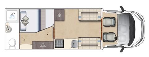 Auto-Sleeper Corinium Floor Plan