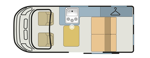 Hillside Castleton Camerpvan Floor Plan