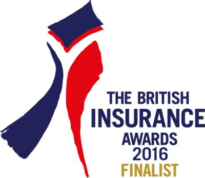 British Insurance Awards finalist logo