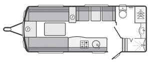 Sterling Continental 530 Floor Plan