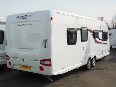 Swift Conqueror 650 rear