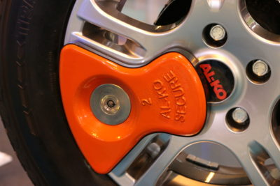 Alko axle wheel lock