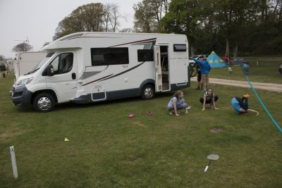 Fun on a motorhome holiday