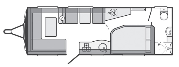 Swift Quattro EW Floor Plan