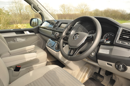 VW California Ocean Cab