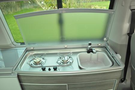 VW California Ocean Kitchen