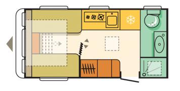 Adria Adora 432 DT Loire Floor Plan