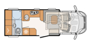 Dethleffs 4-travel floor plan