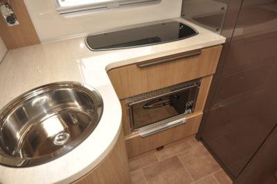 Dethleffs 4-travel kitchen