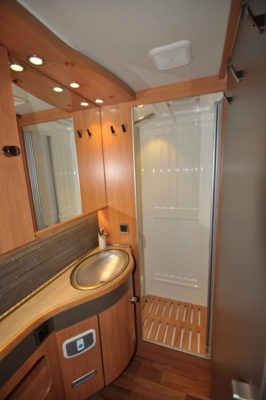 Hymer Nova 585 Shower Room