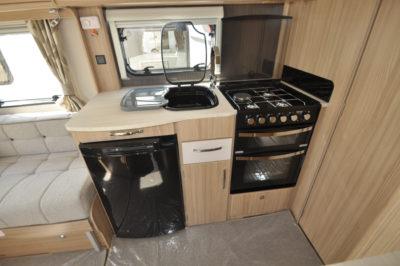 Coachman Pastiche 545 Kitchen