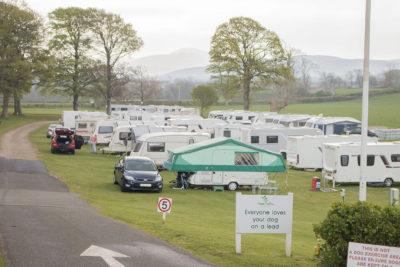Coed Helen Welsh campsite