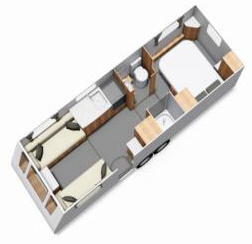 Compass Camino 660 floor plan