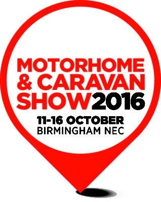 Motorhome and Caravan Show 2016 logo
