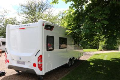 Coachman Laser 675 exterior rear