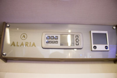 Lunar Alaria RI Caravan heating controls