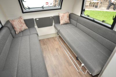 Swift Basecamp lounge seating