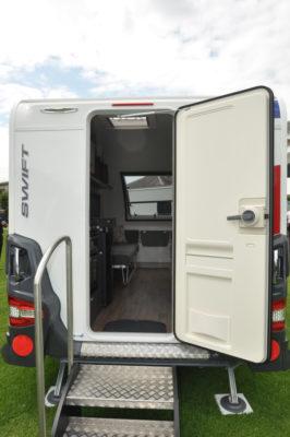 Swift Basecamp Rear door