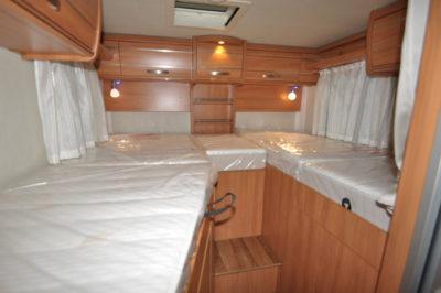 Hymer Van 374 beds