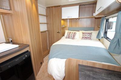 2017 Bailey Pursuit double bed