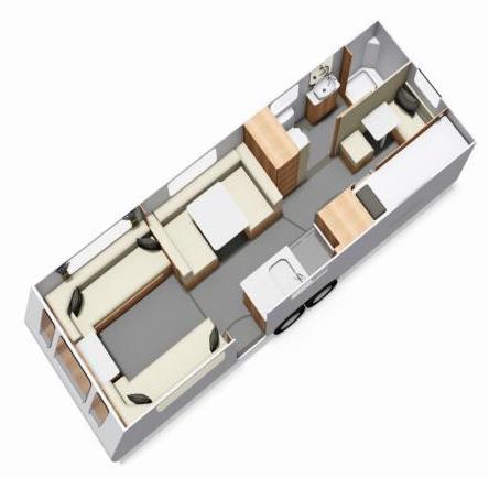 Buccaneer Galera Floor Plan