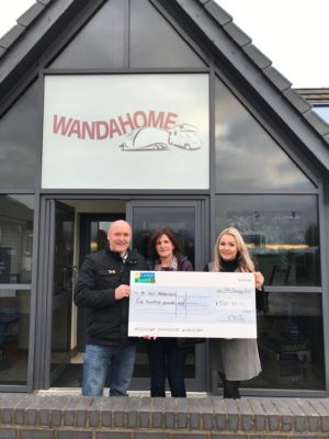 Win £500 prize draw winner at Wandahome