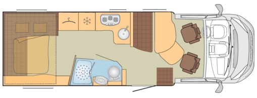 Burstner Lyseo 744 Floor Plan