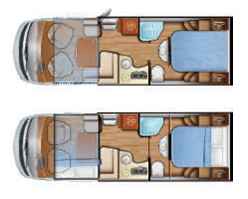 Mobilvetta MH79 Floor Plan