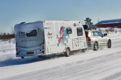 Bailey Caravans Arctic Adventure