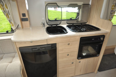 Elddis Xplore 554 Kitchen