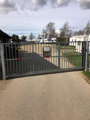 Storage site gates