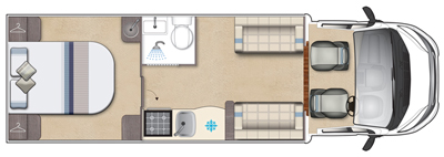 Auto-Sleeper Corinium RB Floor plan